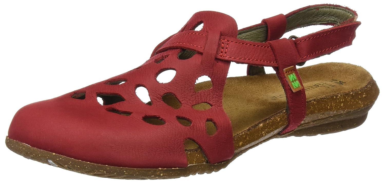 El Naturalista Damen N5063 Geschlossene Sandalen  36 EU|Rot (Tibet)