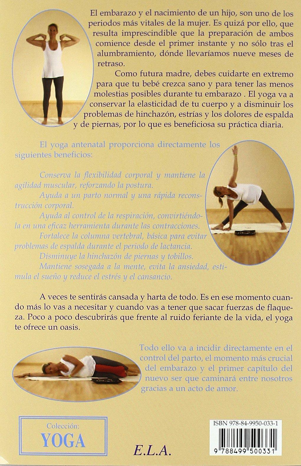 Yoga para embarazadas (+DVD) (Yoga (e.L.A.)): Amazon.es: Victor M. Flores: Libros