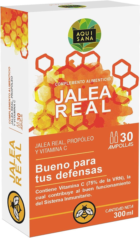 Jalea real con propóleo para mayor energía y vitalidad – Jalea con própolis y vitamina C para reforzar nuestro sistema inmune