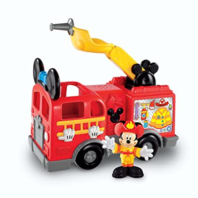 Fisher-Price Disney's Mickey's Fire Truck: Toys & Games