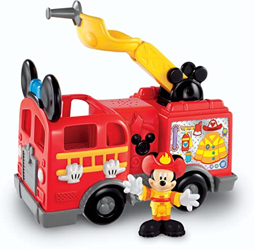 Fisher-Price Mickey Mouse Save the Day Fire Truck