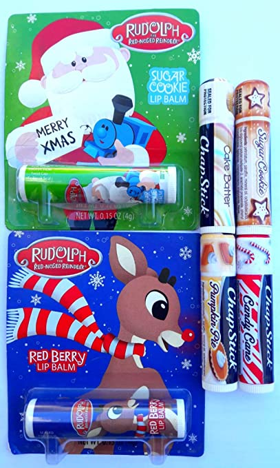 Review Chapstick Christmas Flavors pack