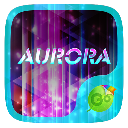 Aurora Go Keyboard Theme  Emoji