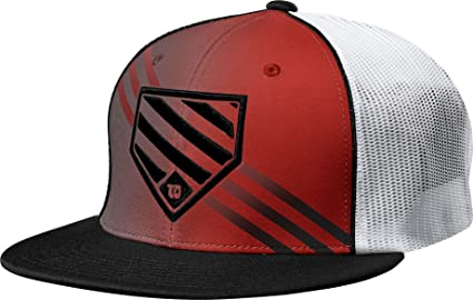 c6e2921b7 Image Unavailable. Image not available for. Color: Wilson W Home Plate Flex  Fit Hat