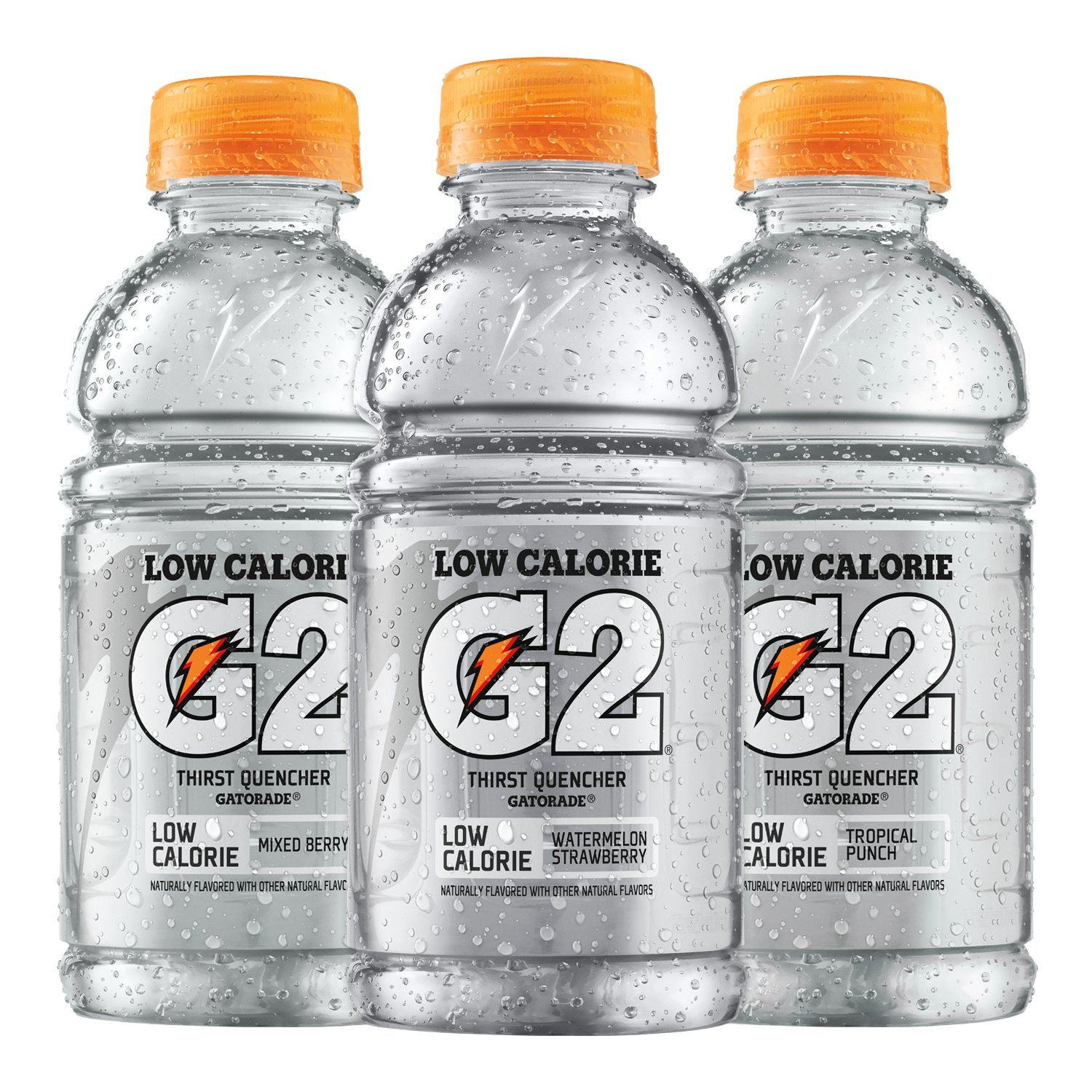 660d64b728b71 Gatorade G2 Thirst Quencher Low Calorie Clear Variety Pack, 12 Ounce  Bottles (Pack of 18)