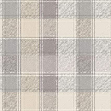 ARTHOUSE COUNTRY CHECKED BLUE /& GREY DENIM QUALITY TARTAN WALLPAPER 902808
