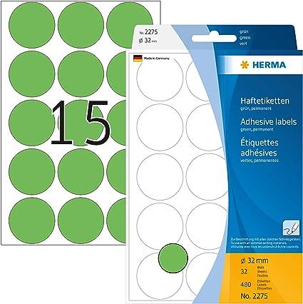 HERMA Etiketten wei/ß 66x33,8mm Premium A4 VE=600 St/ück