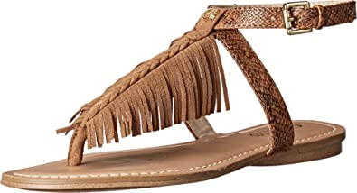 Womens Sandals GUESS Guavva Tan