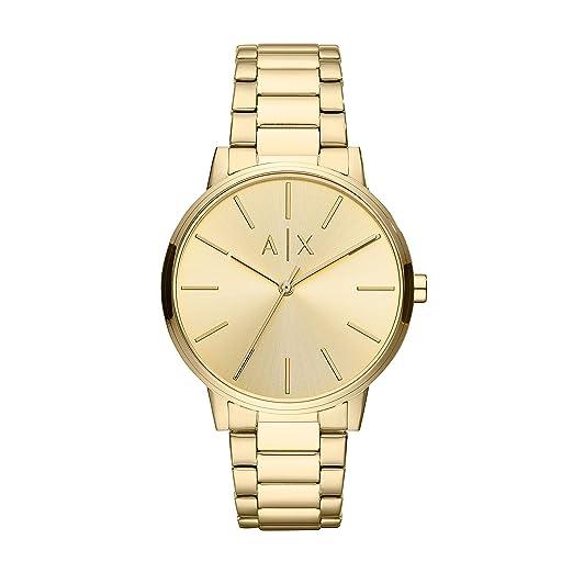 93d2bc20f330 Armani Exchange Reloj Analógico para Hombre de Cuarzo con Correa en Acero  Inoxidable AX2707  Amazon.es  Relojes