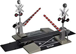 """Bachmann Industries Large """"G"""" Scale Steel Alloy Track with Operating Crossing Gate"""
