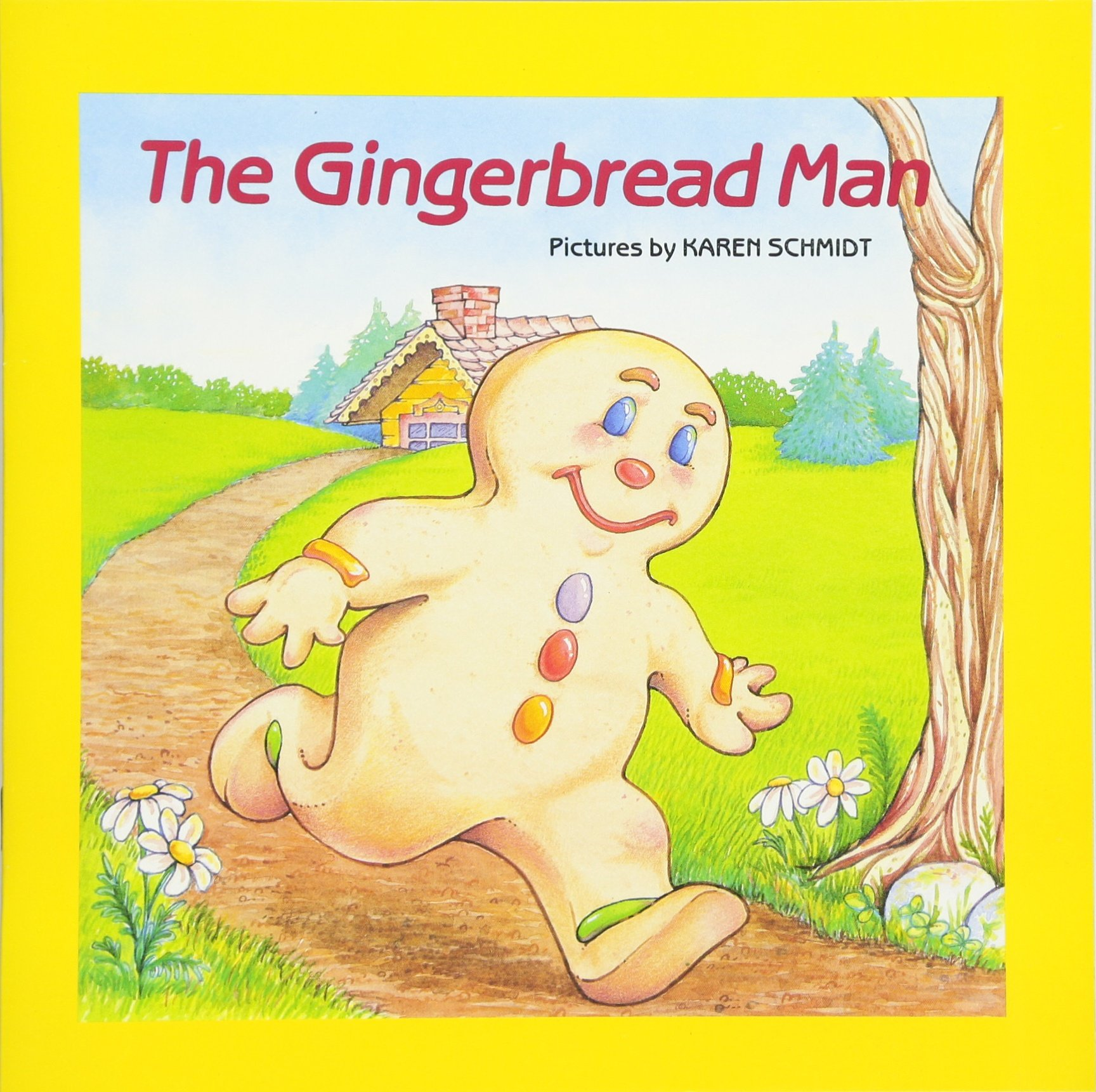 Amazon Com The Gingerbread Man Easy To Read Folktales