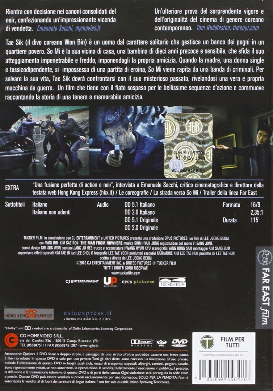The Man From Nowhere [Italia] [DVD]: Amazon.es: Kim Sae-ron ...