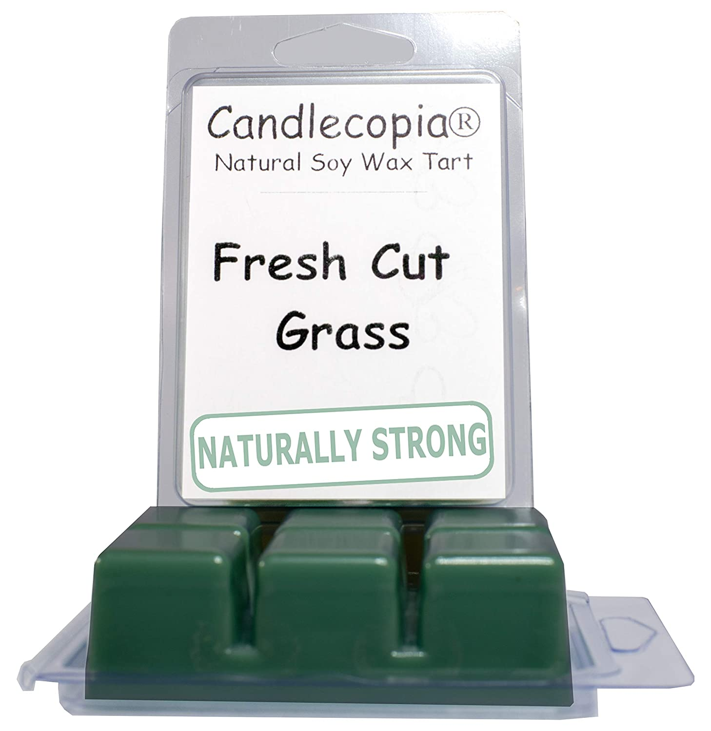 Amazon Candlecopia Fresh Cut Grass Strongly Scented Hand Poured