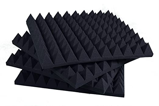 6 opinioni per Pannelli Fonoassorbenti Piramidali 100x100x6cm D30 pacco da 5