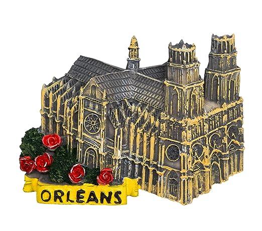 zamonji Orleans, Francia 3D Imán de Resina para Nevera ...