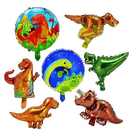 Amazon.com: LITTLE SIENA Dinosaurio suministros de fiesta ...