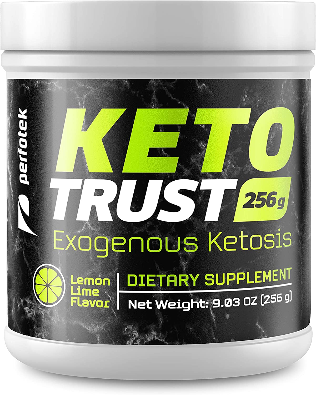 Perfotek Keto Powder – Instant Ketosis – Exogenous Ketones Weight Loss Supplements with BHB and Electrolytes for Ketogenic Diet – Lemon Lime