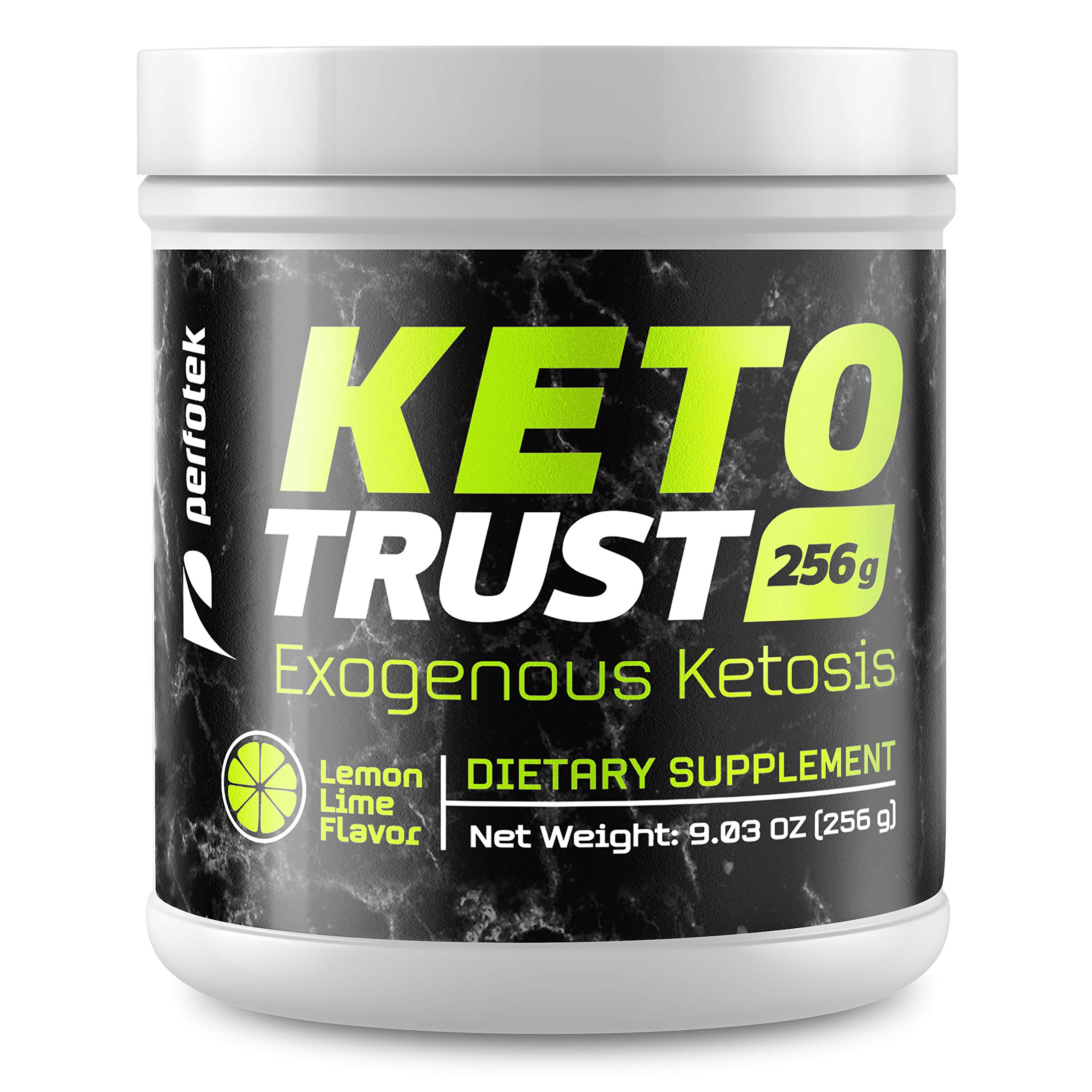 Perfotek Keto Powder - Instant Ketosis - Exogenous Ketones Weight Loss Supplements with BHB and Electrolytes for Ketogenic Diet - Lemon Lime by PERFOTEK