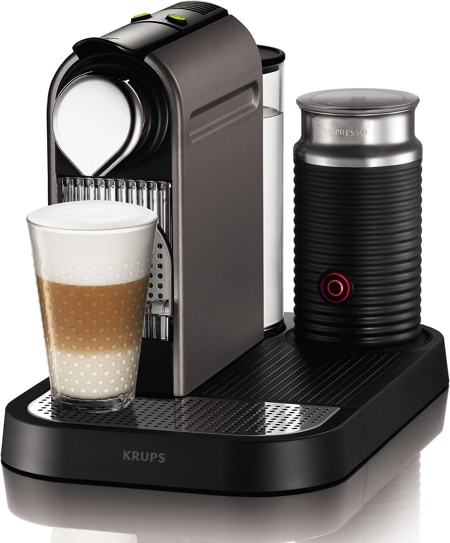 Nespresso Krups Citiz Milk XN 730BPR4-Cafetera de cápsulas, 19 ...