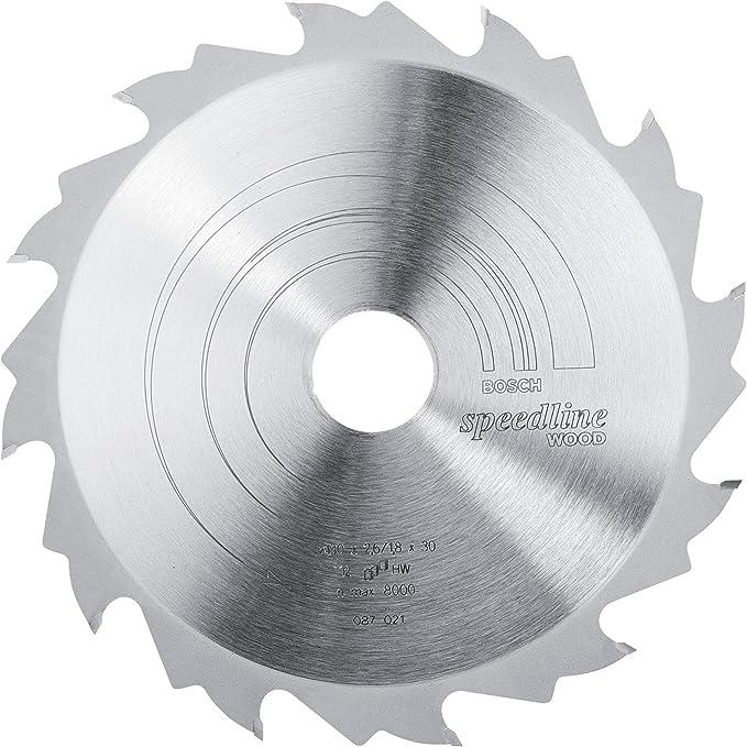 pack de 1 96 Bosch 2 608 642 123 400 x 30 x 4 mm Hoja de sierra circular Top Precision Best for Wood