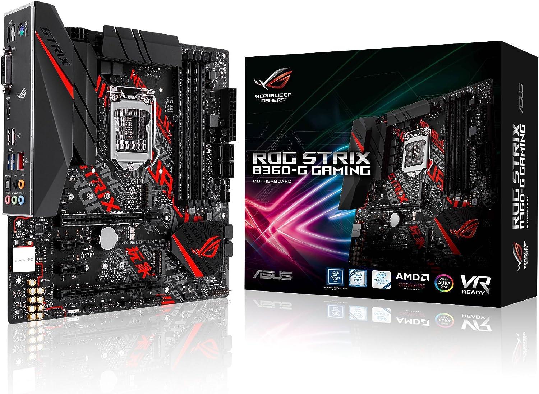 ASUS ROG STRIX B360-G GAMING - mATX Motherboard for Intel Socket 1151 CPUs