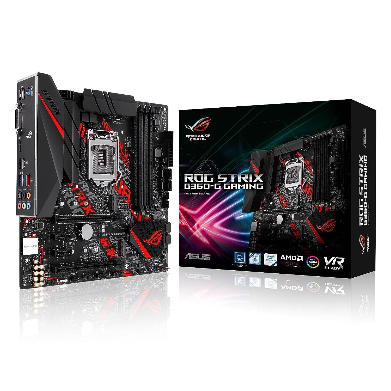 MB ASUS ROG STRIX B360-G GAMING LGA1151 (COFFEE LAKE) 4DDR4 HDMI+DVI 2*PCIe COM M2 mATX