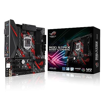 Asus Intel B360 mATX - Placa base gaming con Aura Sync , RGB LED header,