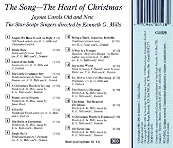the song the heart of christmas