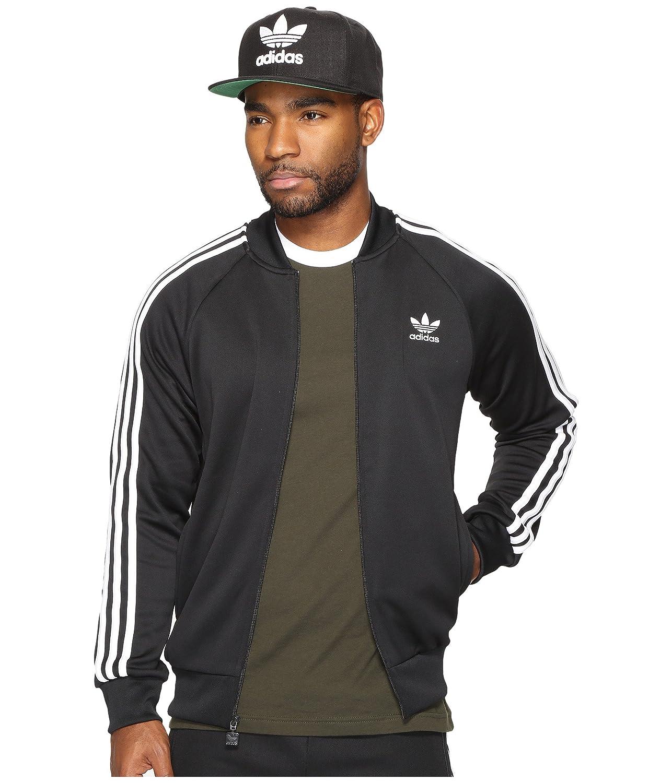 [アディダス] adidas Originals メンズ Superstar Track Top ジャケット [並行輸入品] B06W522N2K Medium|Black/White 1 Black/White 1 Medium