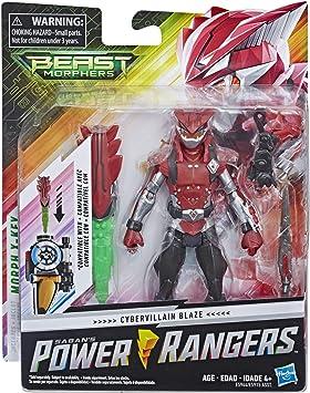 Hasbro Power Rangers Beast Morphers Cybervillain Blaze 6