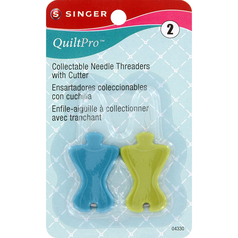 Singer 04330 Mango de plástico Aguja threaders con Cortador: Amazon.es: Hogar
