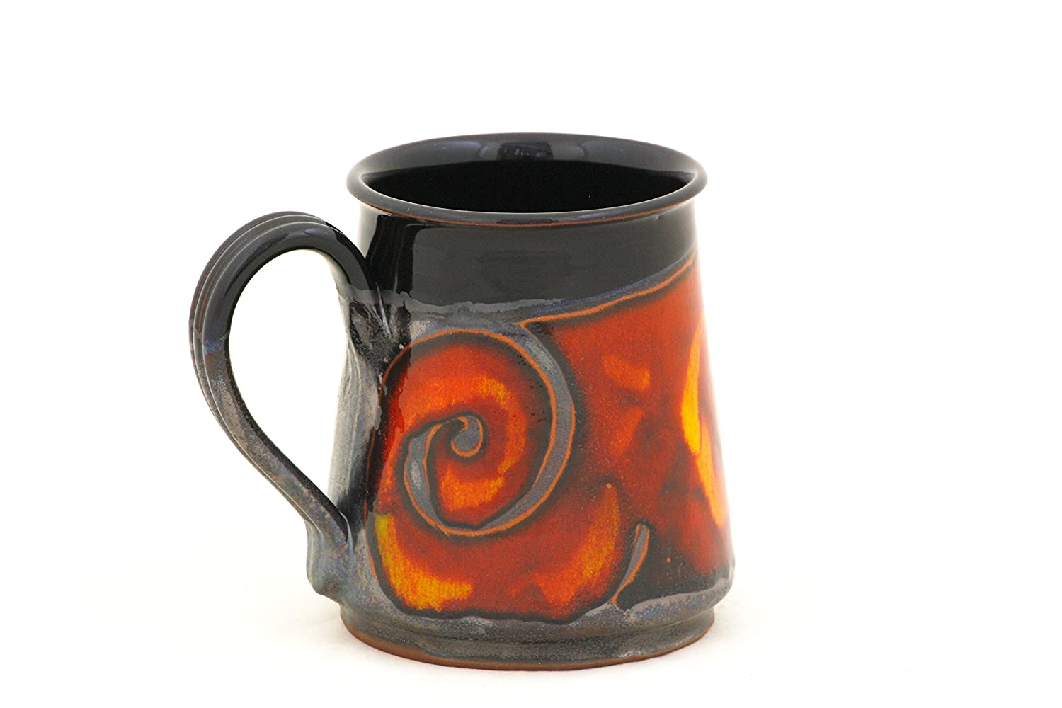 Halloween Stein, Pottery Beer Mug 24oz, Ceramic Stein, Pottery Mug for Beer and Coffee, Stoneware Large Mug, Groom Gift