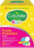 Culturelle Kids Packets Daily Probiotic Formula, One Per Day Dietary Supplement, Contains 100% Naturally Sourced Lactobacillus GG –The Most Clinically Studied Probiotic†, 50 Count (packaging may vary)