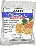 Zand Herbalozenge, Orange/Vitamin C, 15 Count (Pack of 3)