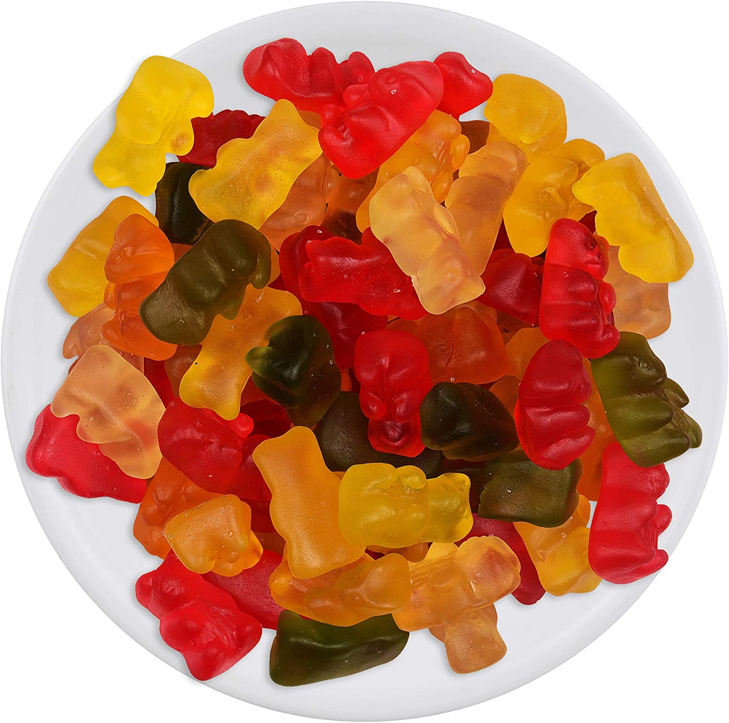 House of candy Gummy Bear Animal Shaped Candy W/Gummy Coating, Jelly Candy,  100 g: Amazon.in: Grocery & Gourmet Foods