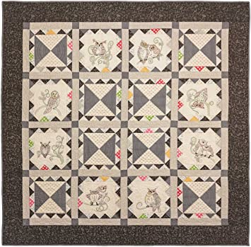 Amazon.com: Crabapple Hill Whoooterville Quilt Pattern By Meg Hawkey : crabapple hill quilts - Adamdwight.com