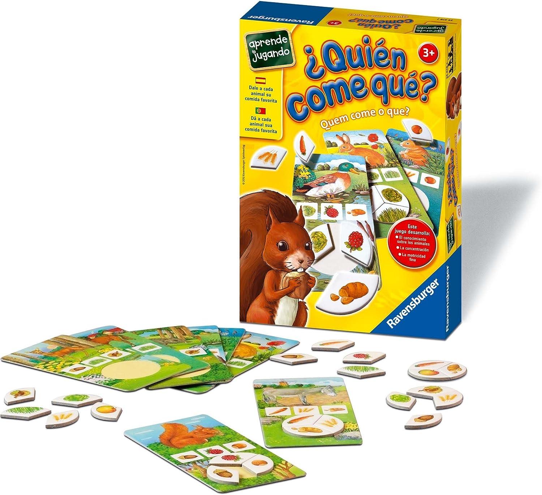 Ravensburger - ¿Quién Come Qué? (24478 2): Amazon.es: Juguetes y juegos