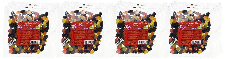 Red Band Fruchtgummi Lakritz Duos 12er Pack 12 X 500 G Beutel