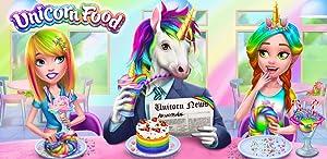Unicorn Food - Rainbow Glitter Food & Fashion from TabTale LTD