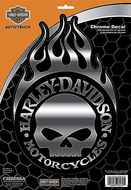 Amazon com: Chroma 003279 Harley-Davidson Skull Classic