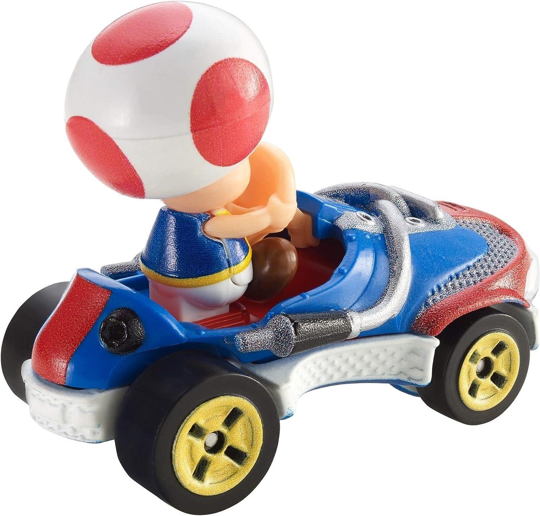 Hot Wheels Mario Kart Toad Sneeker Die-cast Mattel New