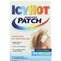 Icy Hot Extra Strength Medicated Patch, Small, 5 Count Box