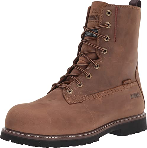 Amazon Com Kodiak Men S 8 Inch Mckinney Composite Toe Waterproof Industrial Boot Industrial Construction Boots
