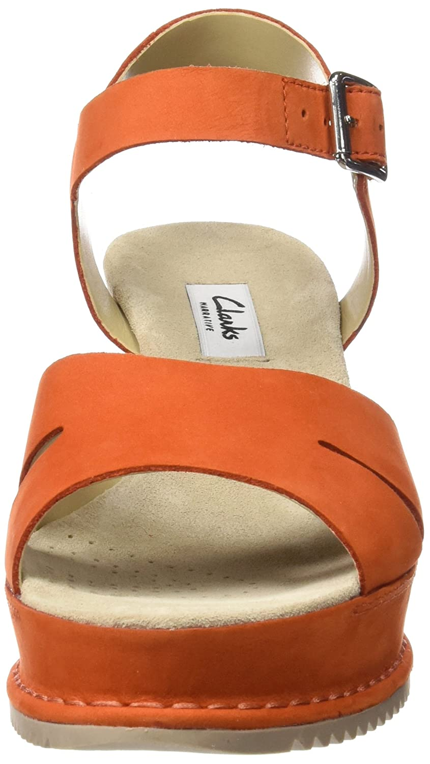 4f7493c2f3cc Clarks Women s Akilah Eden Nubuck Leather Fashion Sandals  Buy Online at  Low Prices in India - Amazon.in