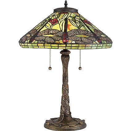 Amazon.com: Quoizel tf2598t lámpara de mesa: Home Improvement