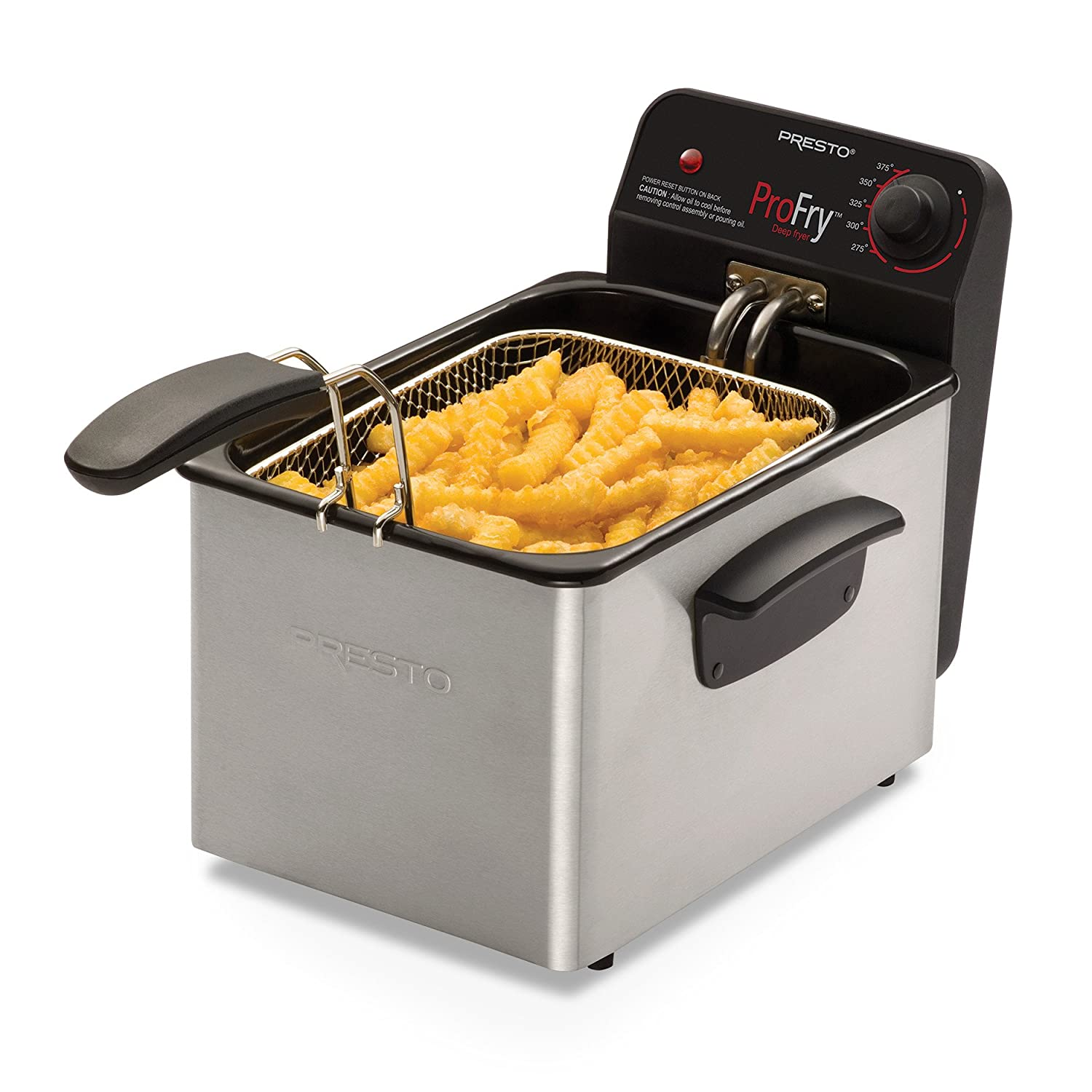 Amazon National Presto Stainless Steel Pro Fry