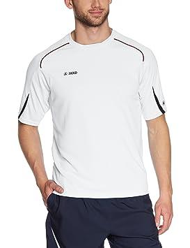 JAKO Passion T-shirt pour homme Multicolore Blanc bleu marine rouge Small 36c285d5a07