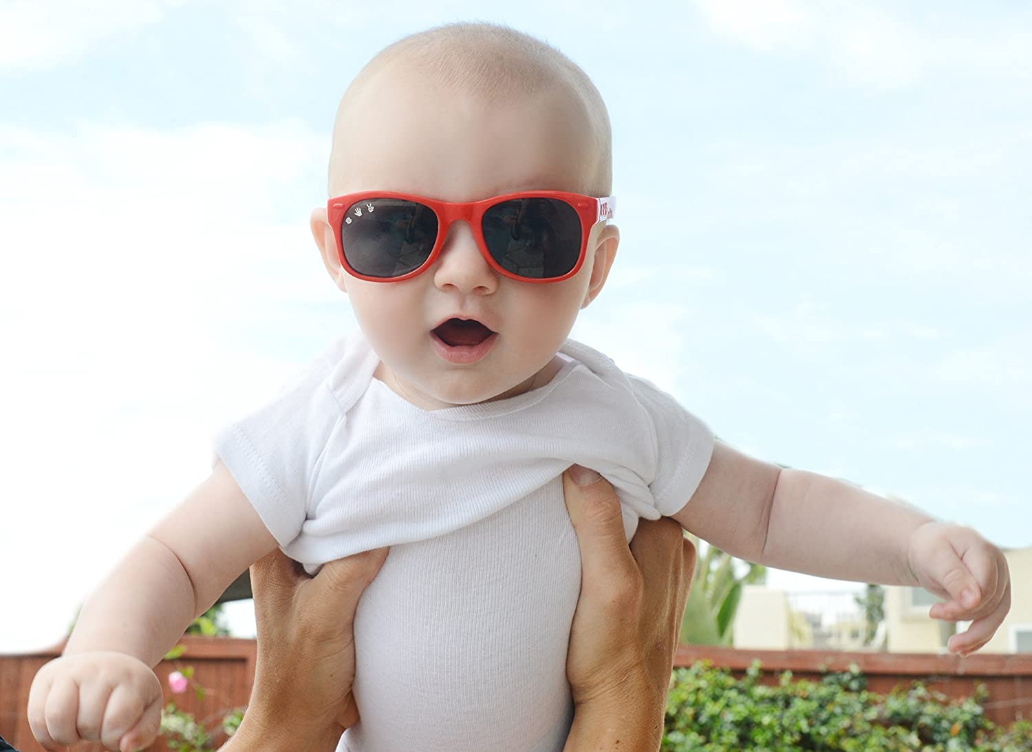 Zack Blue//Green Roshambo Baby Shades Unbreakable Sunglasses 100/% UVA//UVB Protection for Babies 0-18months
