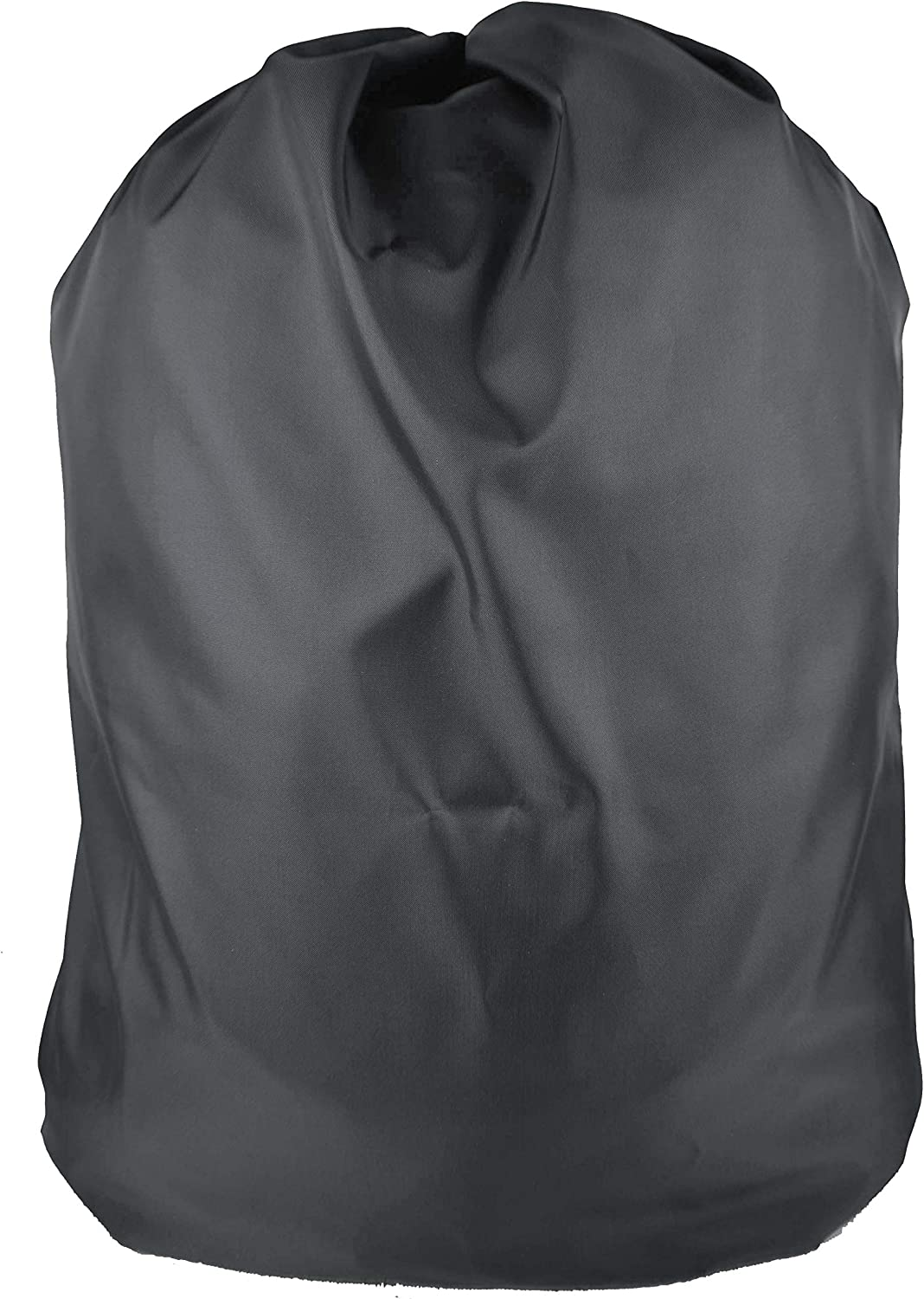"Nylon Bag Waterproof Coated with Drawstring for Laundry, Storage, Travel 30""X40"" (Black)"