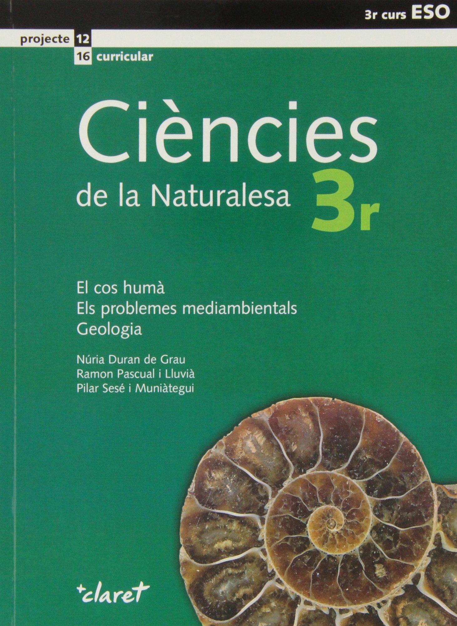 Read Online Ciències de la naturalesa, el cos humà, els problemas mediambientals, geologia, 3 ESO pdf epub